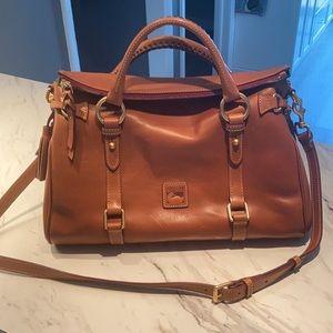 Dooney & Bourke Florentine Tasseled Satchel Bag